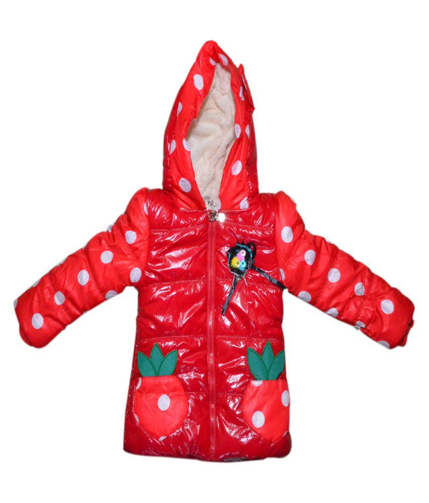 Winter Fuel Red Jacket for Kids