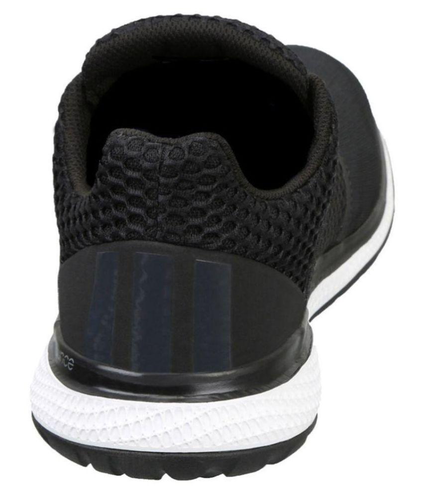 huge selection of 8b9fb 3fb9e ... Adidas Energy Bounce Black Running Shoes ...