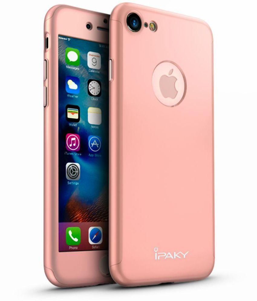 Apple Iphone 7 Cover By Ipaky Rose Gold Plain Back Covers Online At Low Prices Snapdeal India