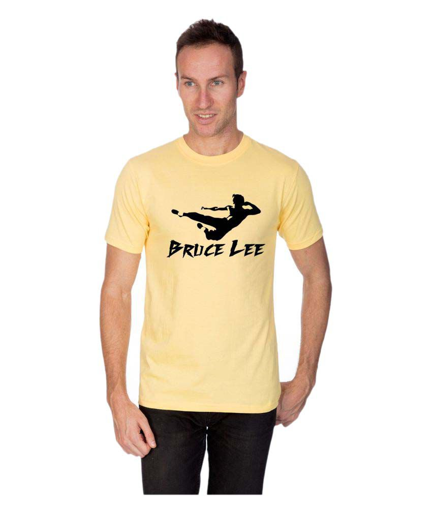 Artist Yellow Round T-Shirt