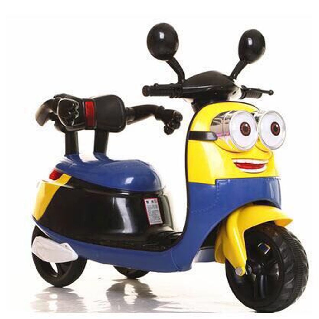 ca7a8c2df56 GoBaby Minion Battery Operated Kids Ride On Bike - Buy GoBaby Minion Battery  Operated Kids Ride On Bike Online at Low Price - Snapdeal