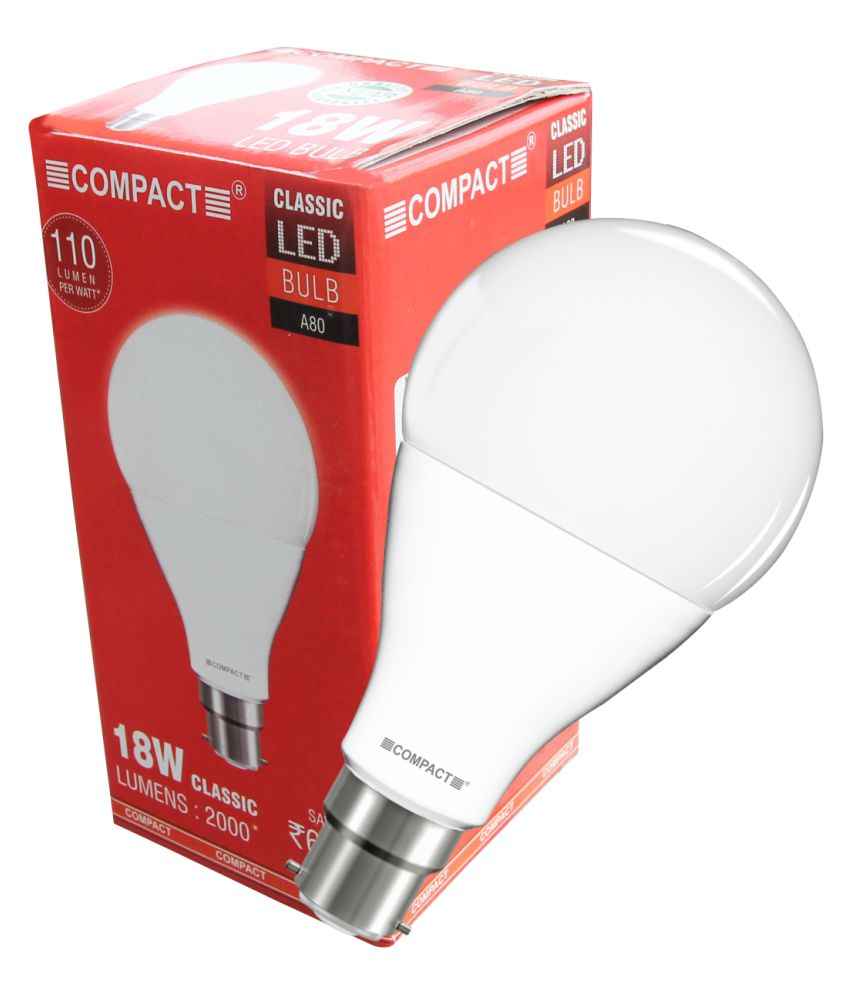 f67a178ad Compact 18W Single Led Bulbs - Cool Day Light  Buy Compact 18W Single Led  Bulbs - Cool Day Light at Best Price in India on Snapdeal