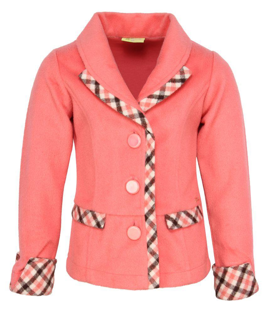 Cutecumber Girl's Orange Coat