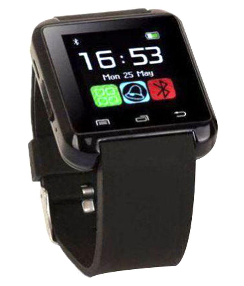 SYL PLUS iris selfie Smart Watches Black