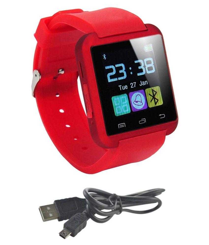 JIKRA marathon m3 Smart Watches Red