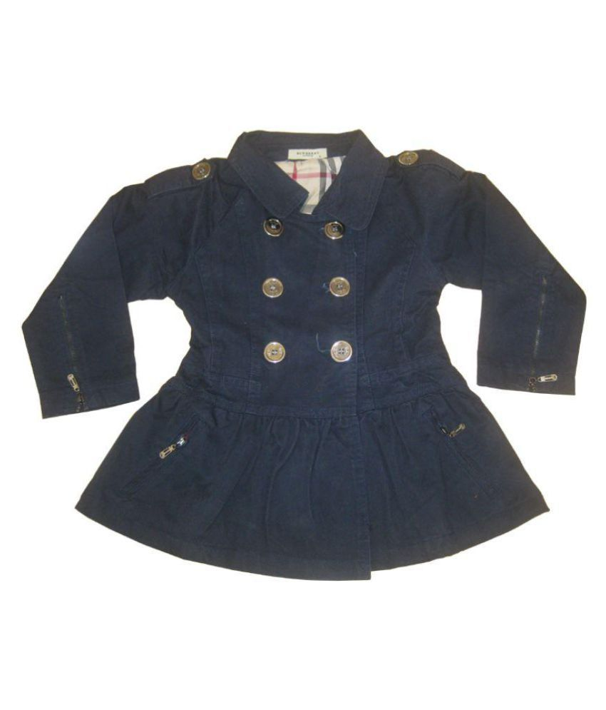 Burberry Navy Cotton Jacket