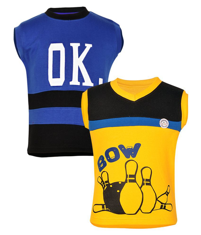 Gkidz Multicolor Fleece Sweatshirt for Girls Pack of 2