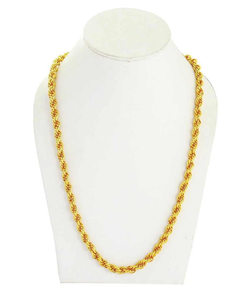 3b442abdc8e Memoir Golden Brass Chains for men Memoir Golden Brass Chains for men ...