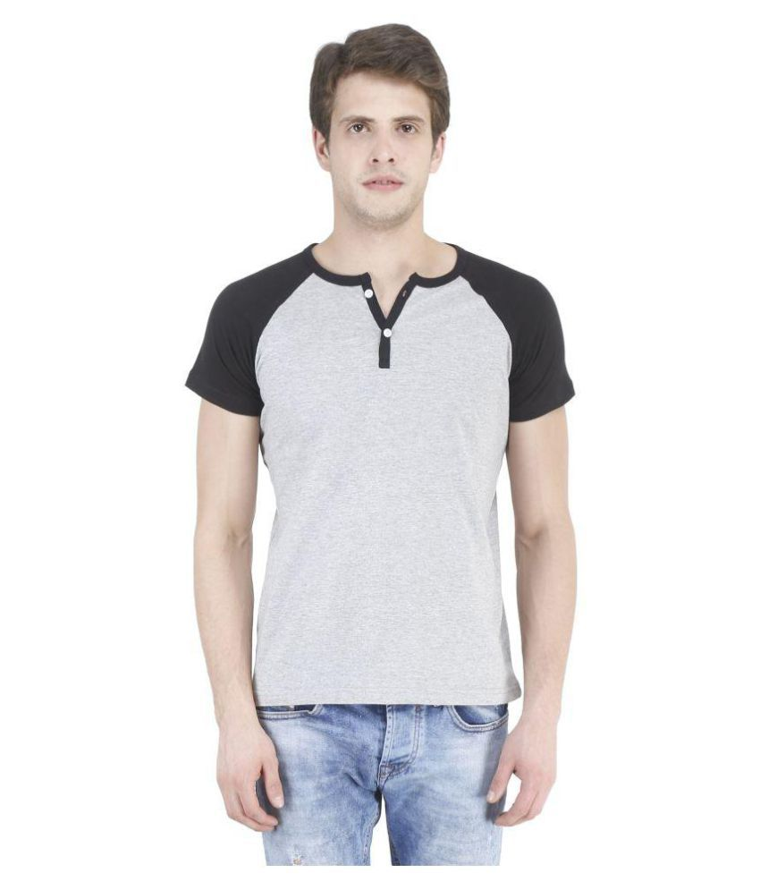 Swager Grey Henley T-Shirt