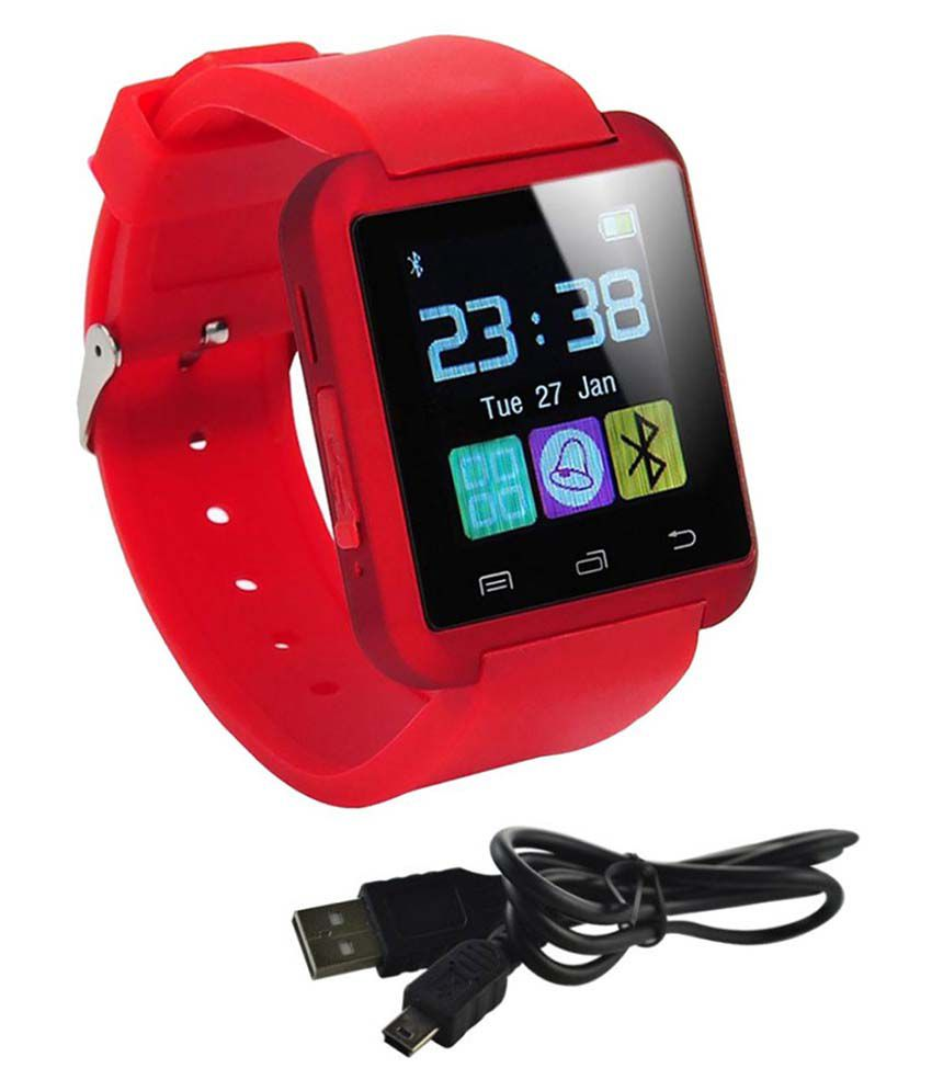 AKIRA Red Smart Watches q3