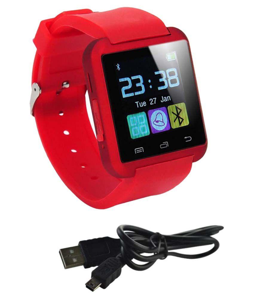 AKIRA blu energy Smart Watches Red