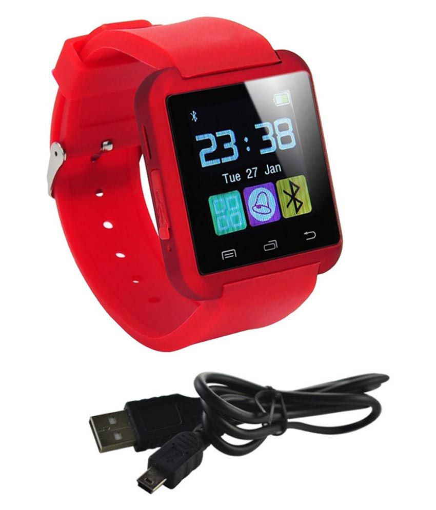 AKIRA x cam Watch Phones Red