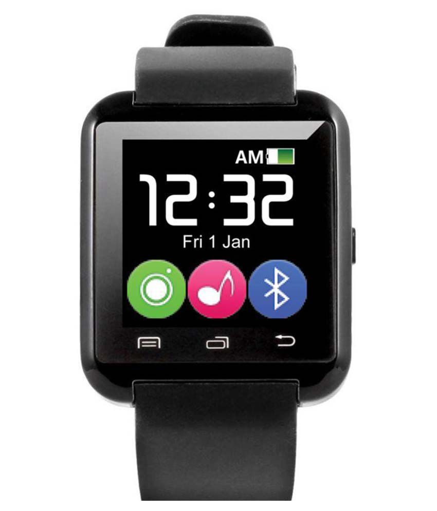 JIKRA i4+ Smart Watches Black