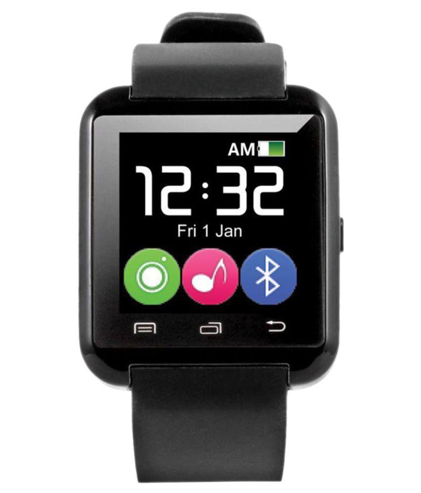 JIKRA 5h quadro Smart Watches Black