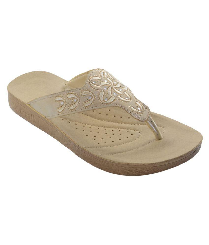 Aerowalk Beige Slippers