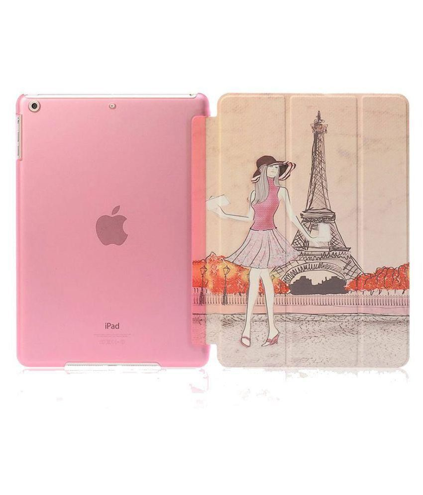 Apple iPad Air 2 Flip Cover By Go Crazzy Multi Color