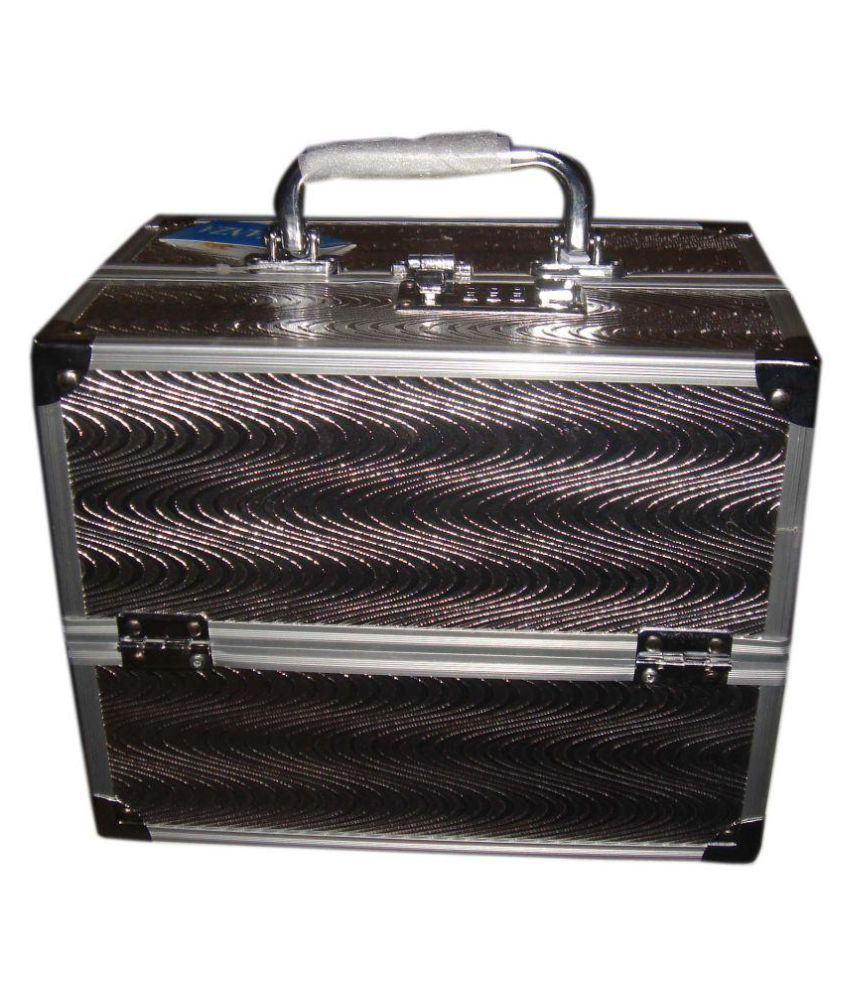 Bonanza Silver Aluminium Jewellery Box