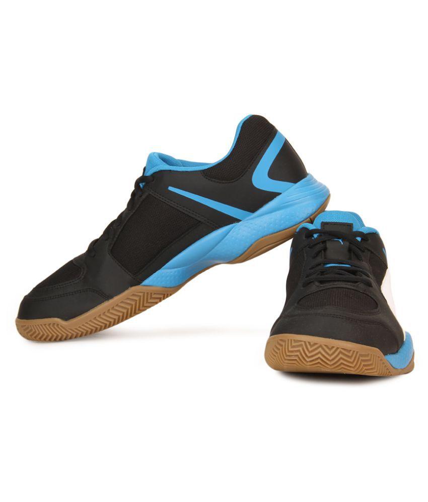 Puma Veloz Indoor II Black Running Shoes - Buy Puma Veloz Indoor II ... a5f021a68