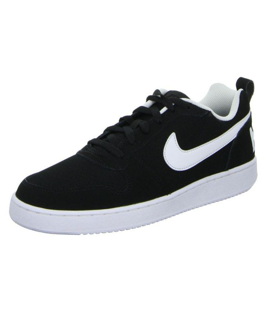 tattica compromesso sprecare  Nike Court Borough Low Sneakers Black Casual Shoes - Buy Nike Court Borough  Low Sneakers Black Casual Shoes Online at Best Prices in India on Snapdeal