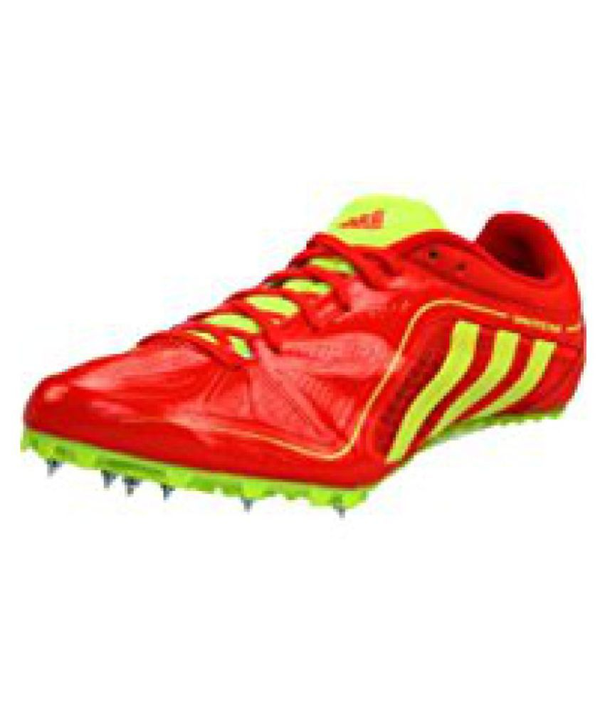 Adidas Sprintstar 3 Track Red Running Shoes