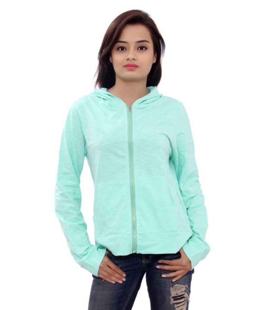 SML Originals Light Blue Colour Solid Hoodie A/W Jacket