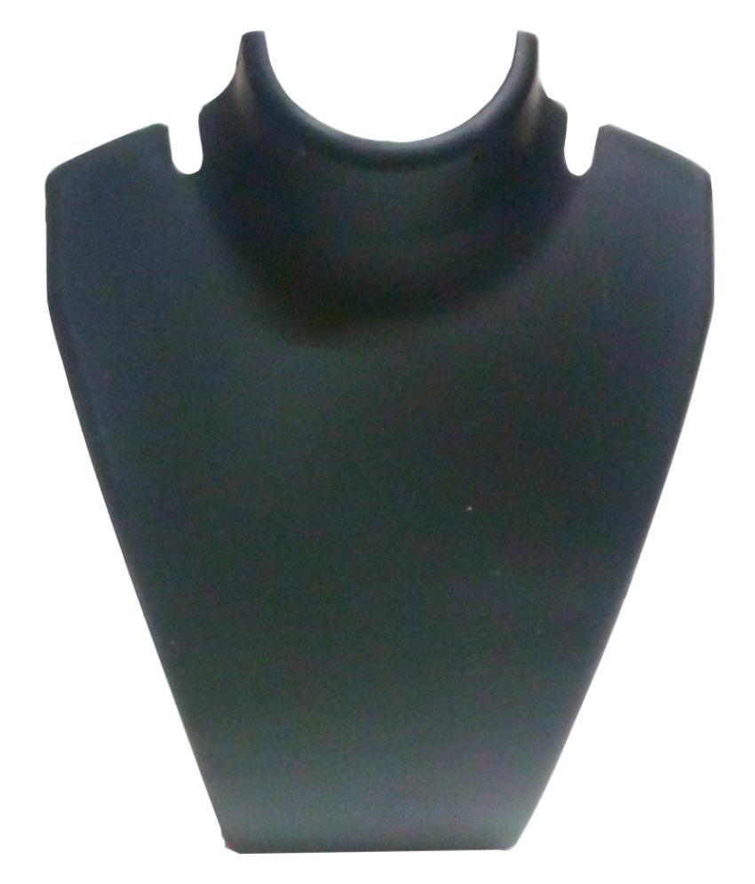 AntiqueShop Black Pendant Necklace Set Display Stand