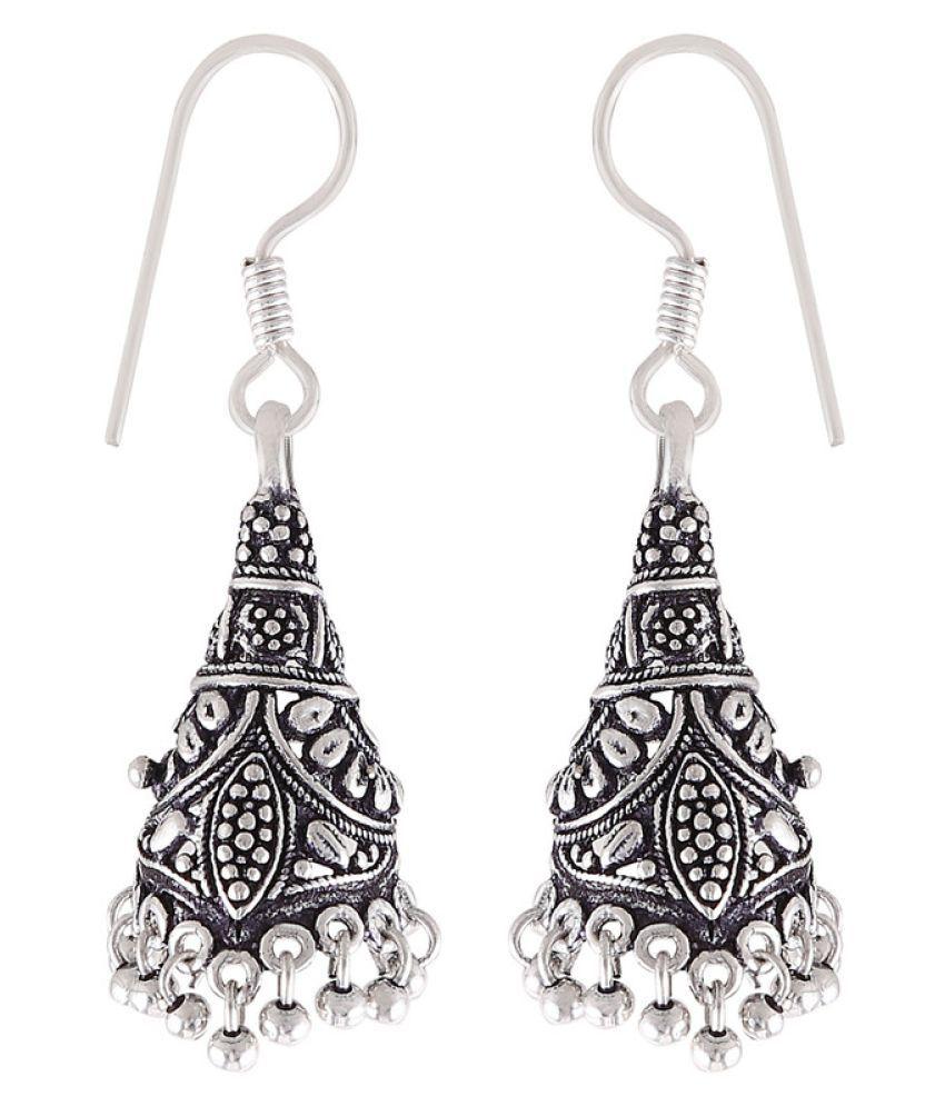 Illuminate Silver Drop Earrings