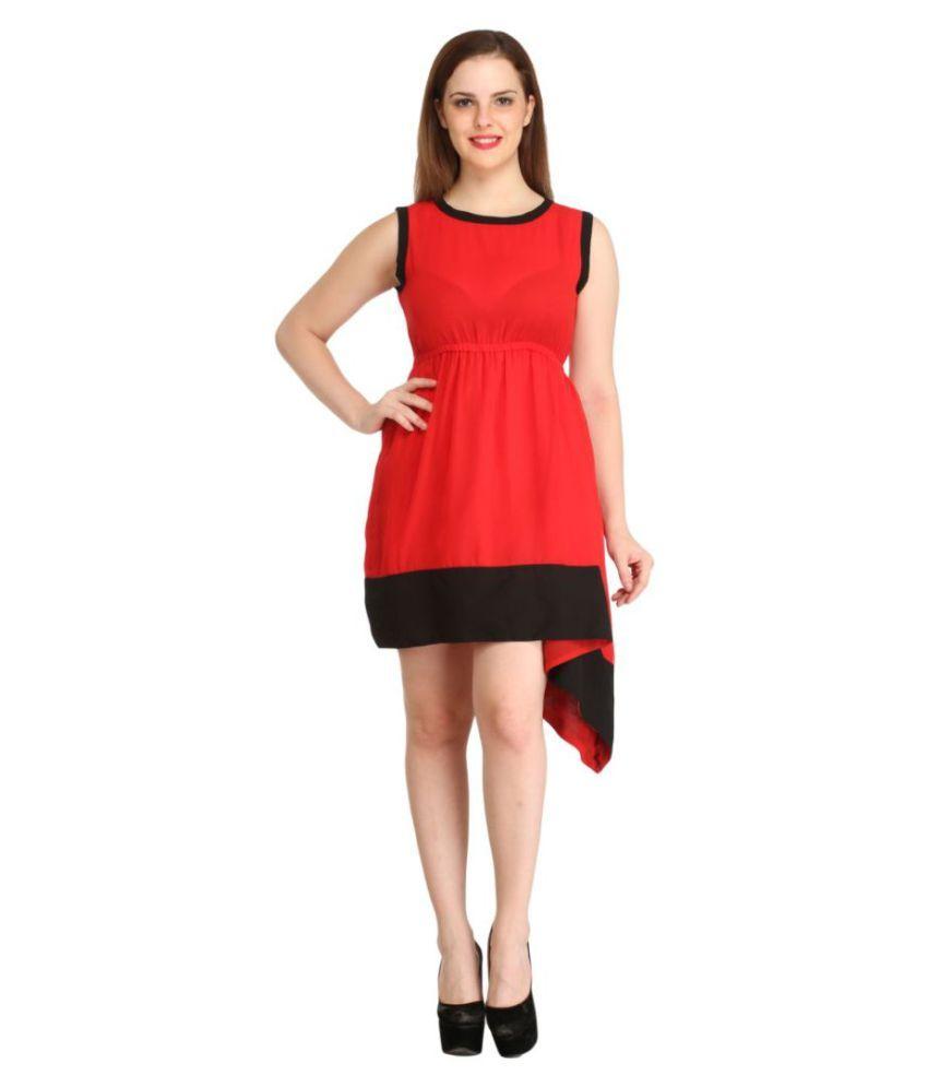 Rennen Cotton Asymmetric dress