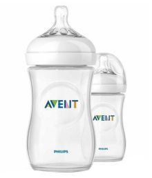 Philips Avent Natural Bottle 260ml (Twin Pack)
