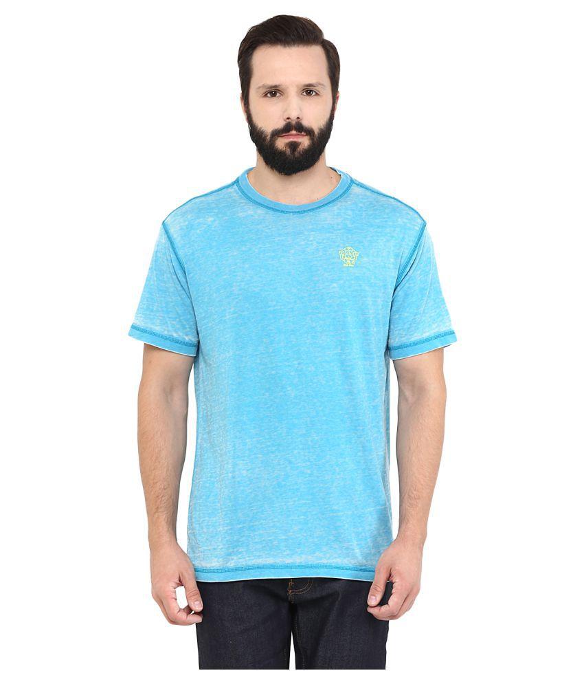 Grain Blue Round T-Shirt
