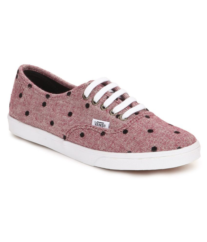 Vans Pink Sneakers Price in India- Buy Vans Pink Sneakers Online at Snapdeal 3892bc1ea