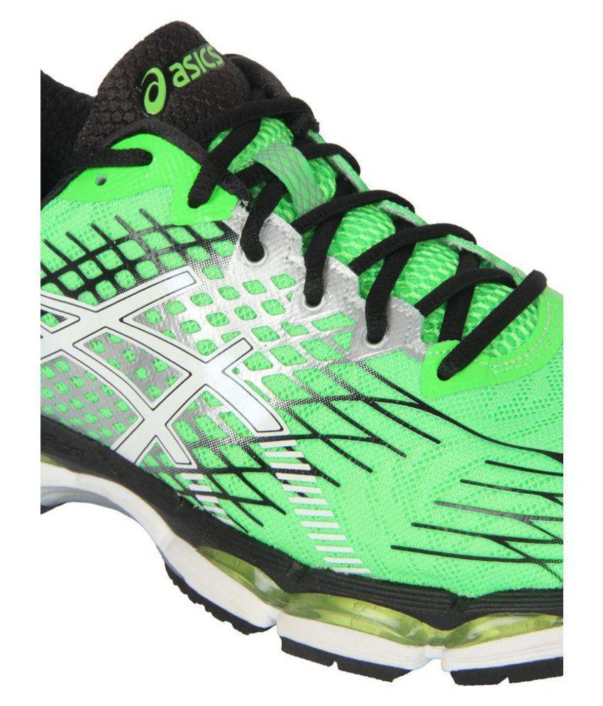 quality design 8547d 50055 Asics Gel-Nimbus 17 (2E) Green Running Shoes - Buy Asics ...