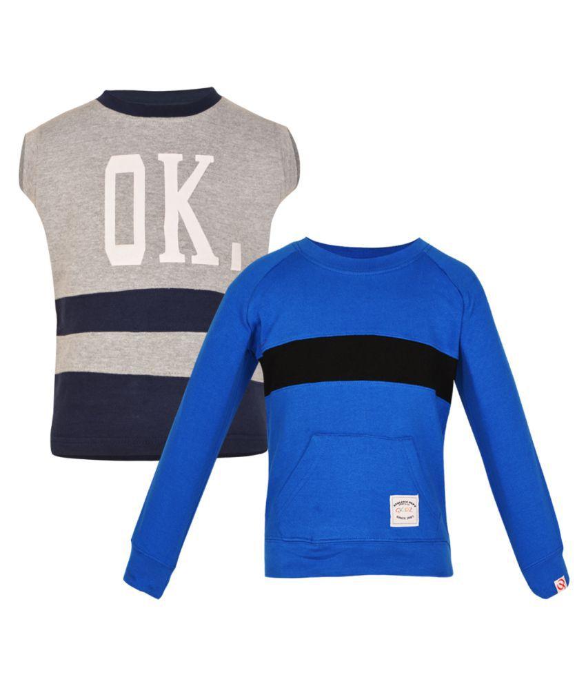 Gkidz Multicolor Sweatshirt - Pack of 2