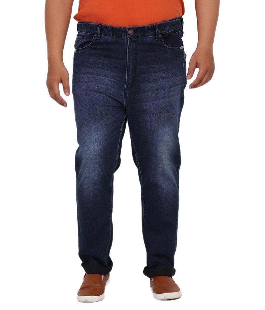 John Pride Blue Regular Fit Solid