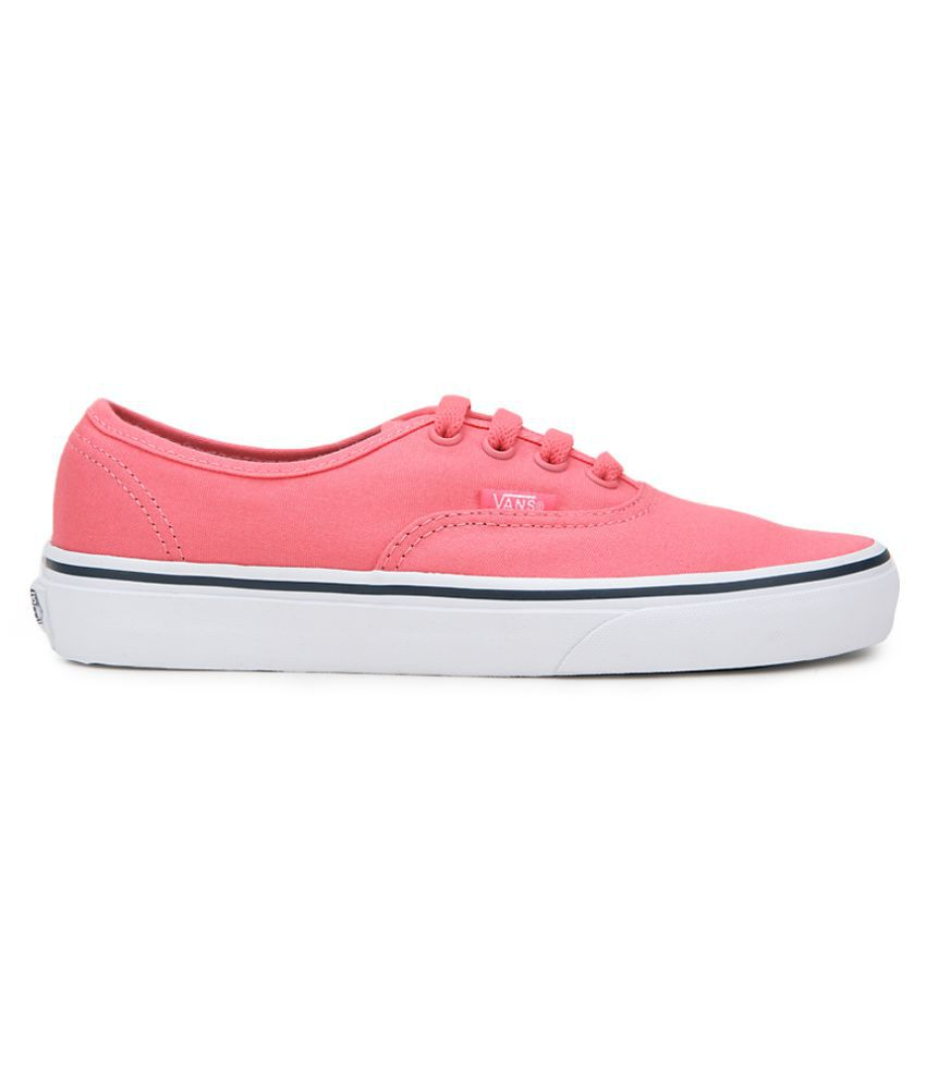 Vans Pink Sneakers Price in India- Buy Vans Pink Sneakers Online at ... eb3d2e263