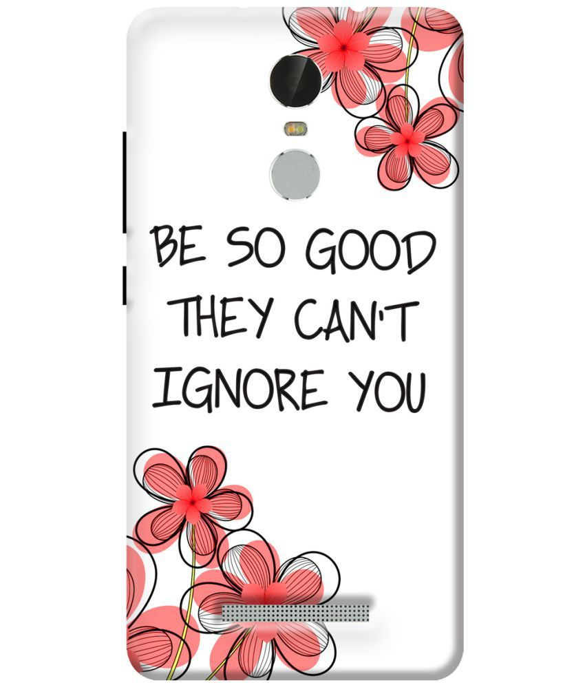 Xiaomi Redmi Note 3 Printed Cover By KanvasCases