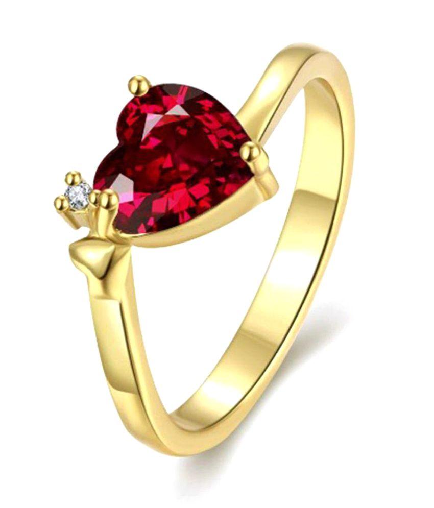 Fasherati Golden Ring: Buy Fasherati Golden Ring Online in India ...