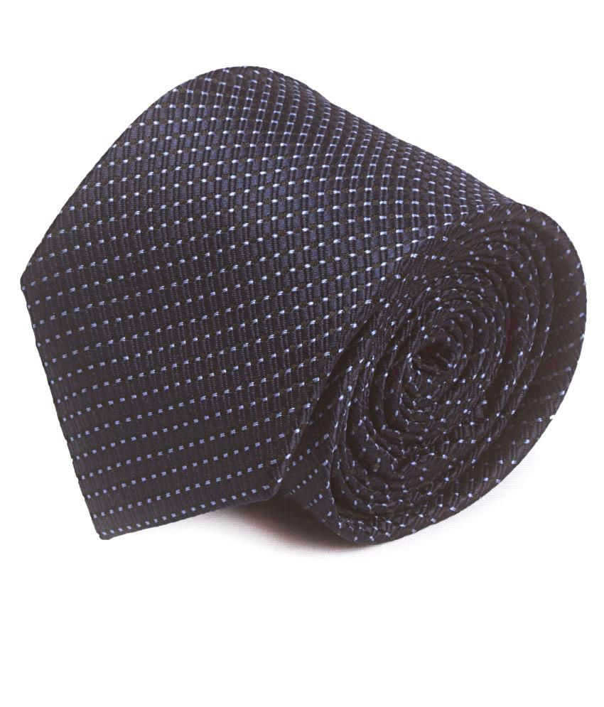 Rinaldo Santini Black Formal Necktie