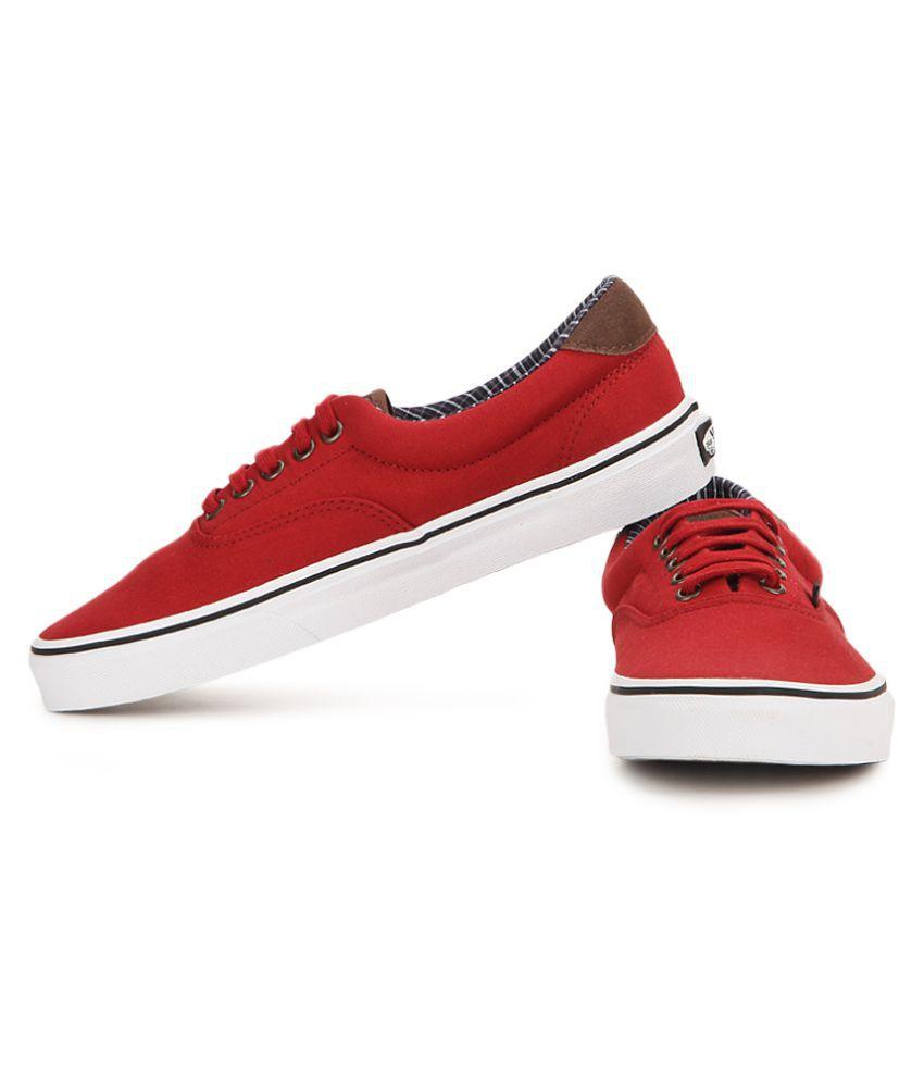 4e64eedaa7 Vans Era 59 Sneakers Maroon Casual Shoes - Buy Vans Era 59 Sneakers ...