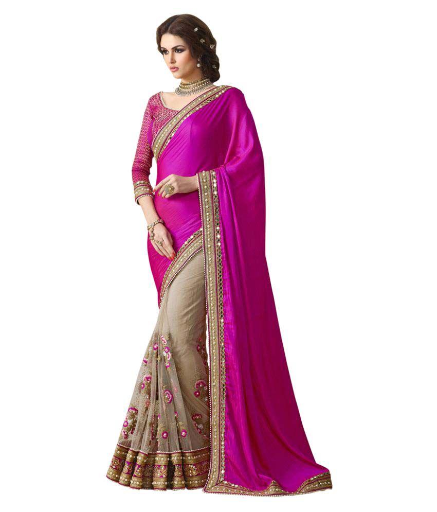 Varayu Multicoloured Bangalore Silk Saree
