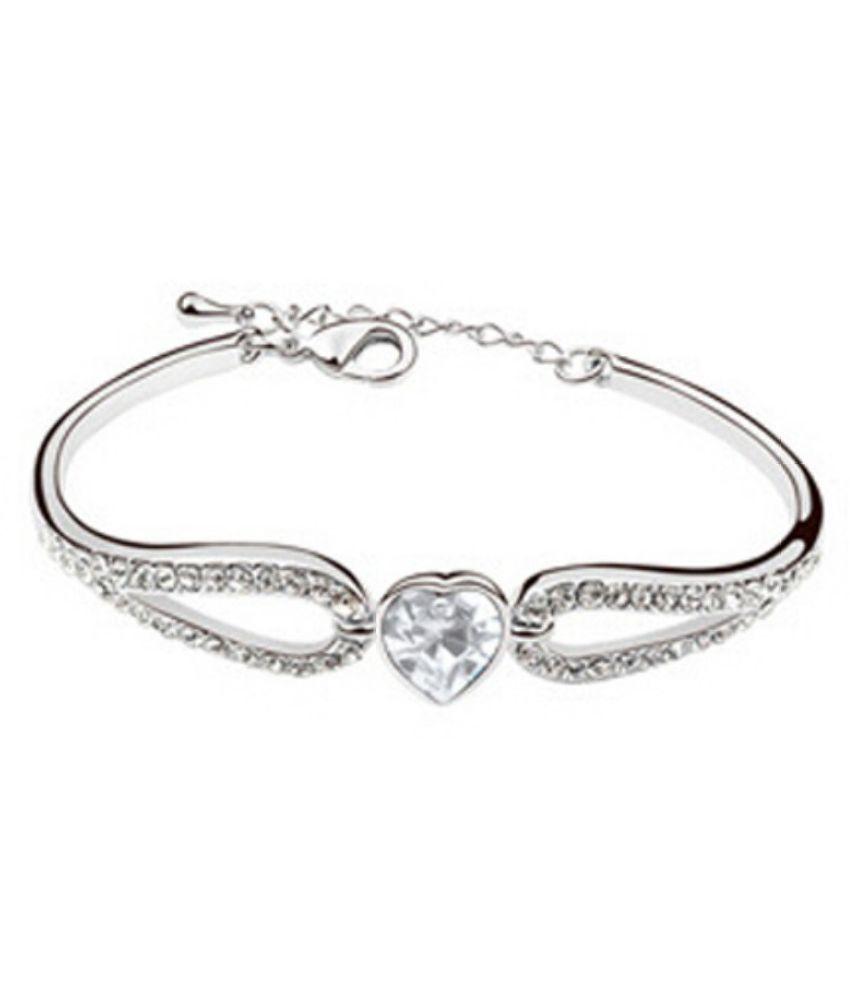 Ark Jewellery Silver Alloy Bracelet