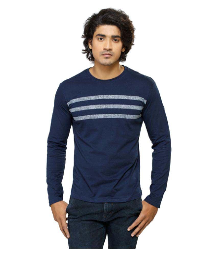 Smashers Blue Round T-Shirt