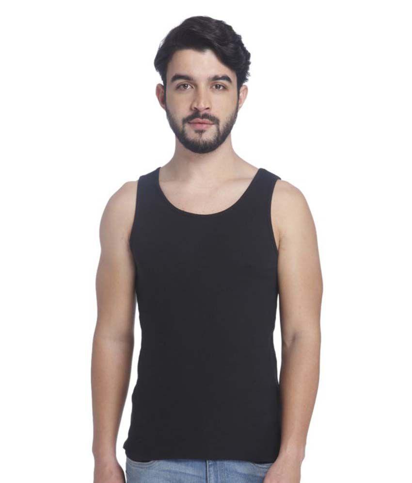 Jack & Jones Black Sleeveless Vests