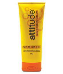 Amway Attitude Sunscreen Cream 100 Gm Pack Of 3