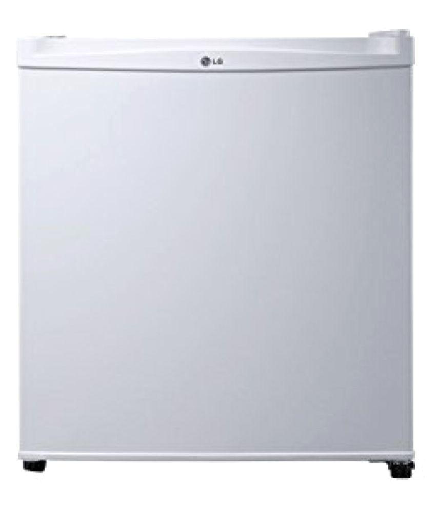 LG 45 LTR GL-051SSW Single Door Refrigerator white