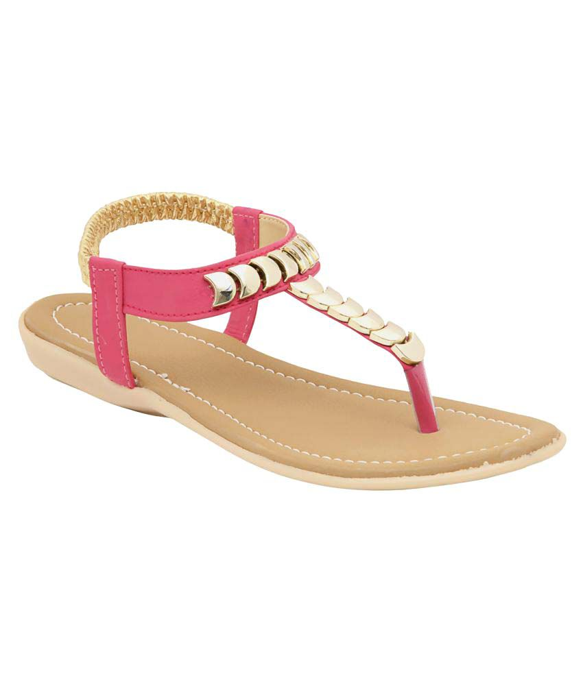 Laiba Pink Flats