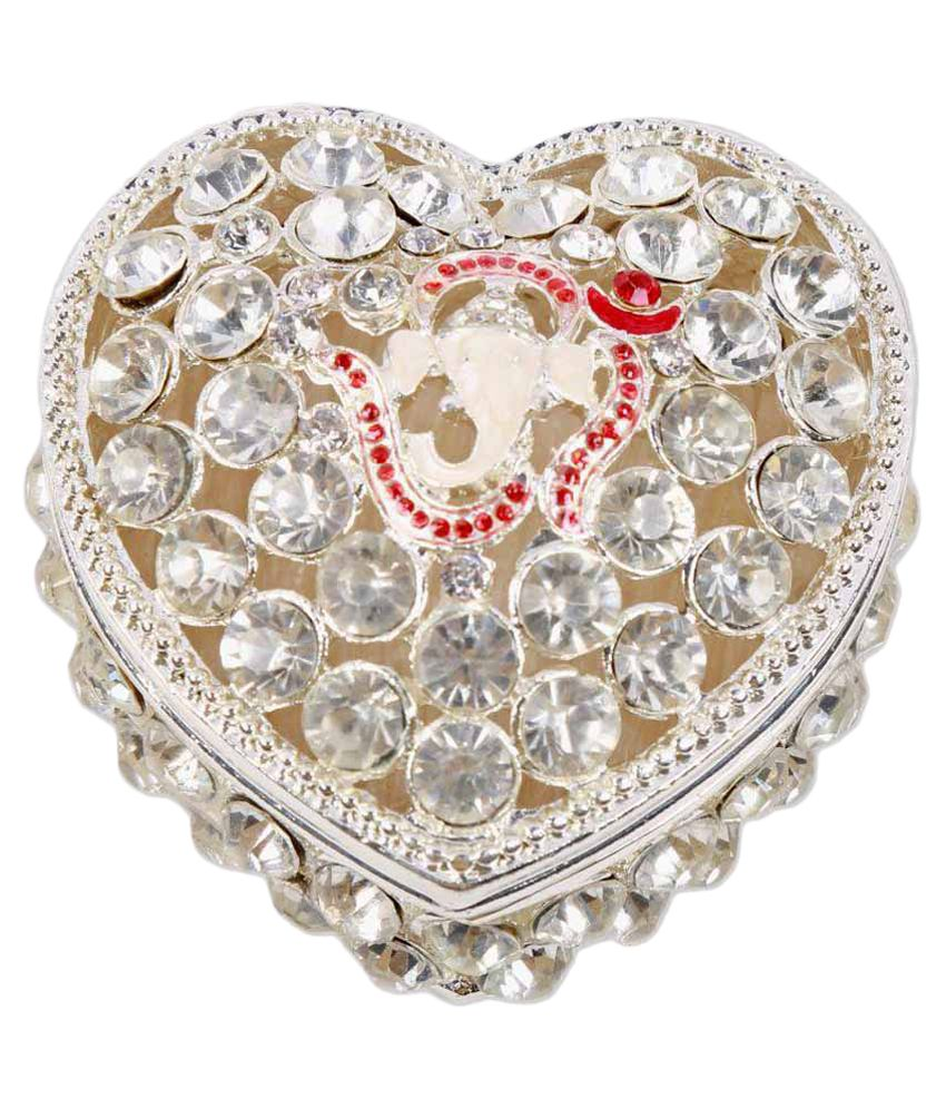 Decorative Heart Shape Jewellery Box