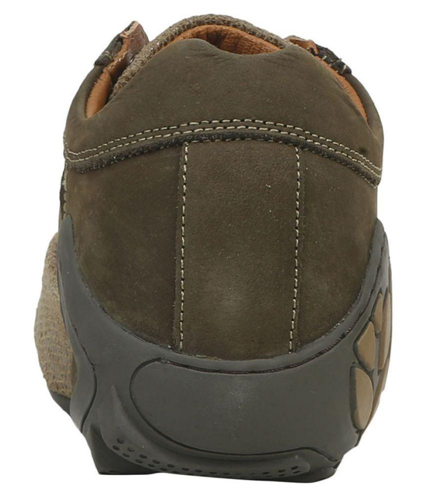 8604da29de5 ... Woodland GC 0549108Y15-OLIVE GREEN Lifestyle Olive Casual Shoes ...