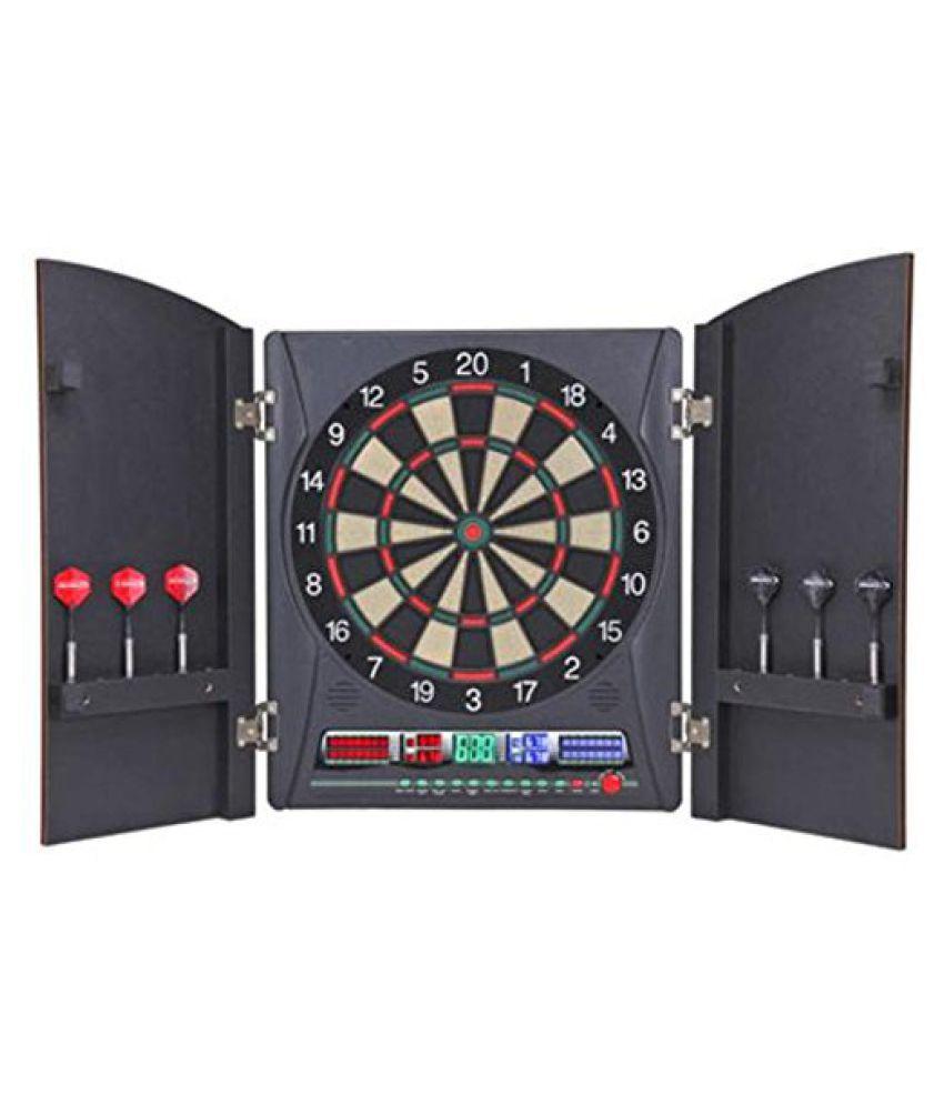 Regent Halex Millenia 5.0 Dartboard (Black/Brown, 13.5-Inch)