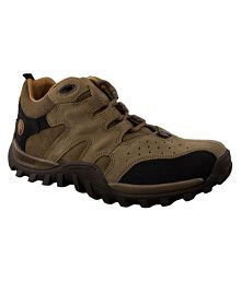 Woodland GC 0232106Y15-KHAKI Outdoor Khaki Casual Shoes